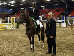 Ostara's Umberto Receiving 3rd Place National Pony Discovery Millstreet 2008
