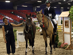 Whos DJ and Ostaras Umberto at Millstreet National Pony Discovery Finals 2008